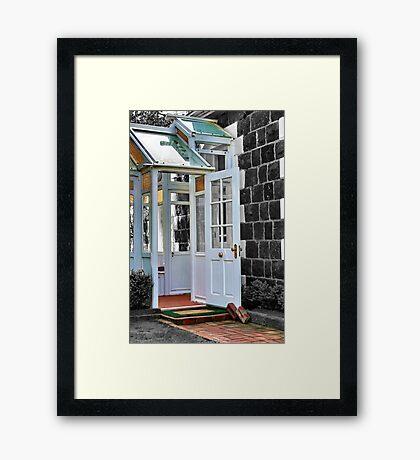 """""""The Door"""" Framed Print"""