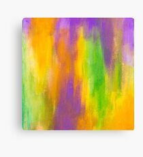 beautiful abstract painted texture Canvas Print
