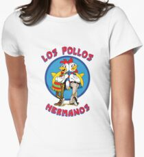 Pollos Hermanos - Vivid Color Variant Women's Fitted T-Shirt