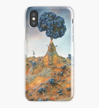 Went up the Hill to visit my Tree iPhone Case