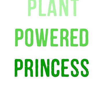 Plant Powered Princess by goldenlotus