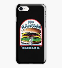 "Big ""KAHUNA"" Burger - White Back Variant iPhone Case/Skin"