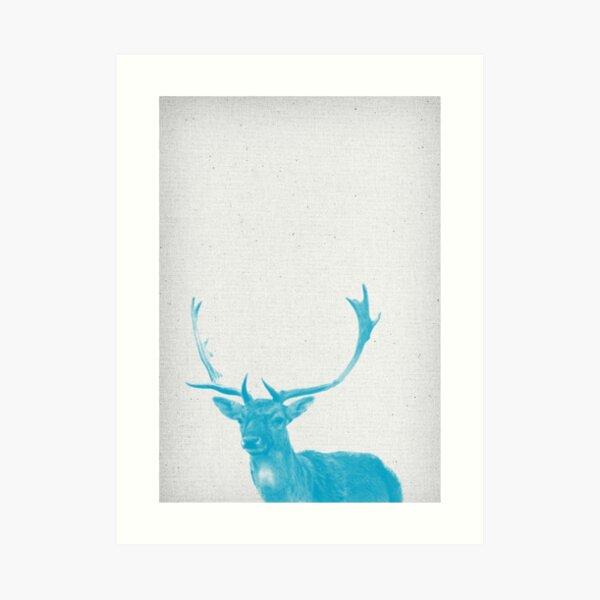 Hirsch 01 Kunstdruck