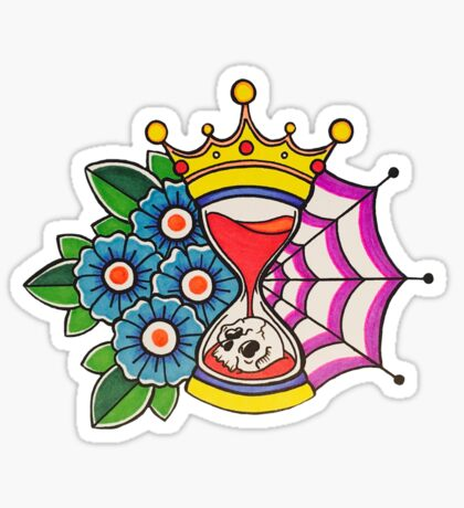 Time is King Sticker