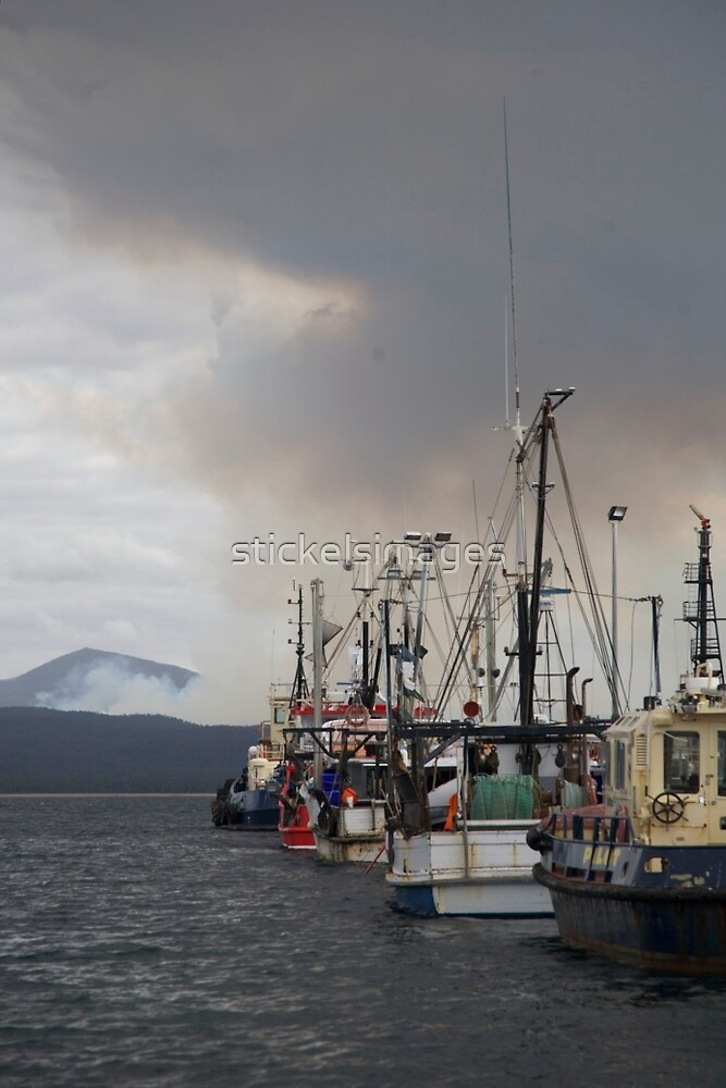 smoke over  fleet by stickelsimages