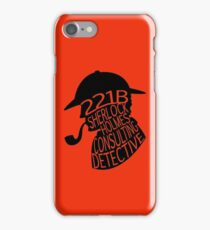Sherlock Holmes, Consulting Detective iPhone Case/Skin