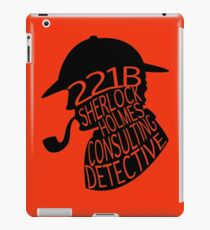 Sherlock Holmes, Consulting Detective iPad Case/Skin