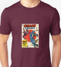 Vintage Smash Comics Superhero Crime Fighter T-Shirt