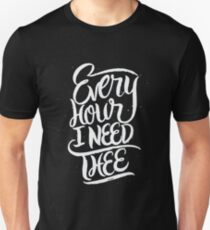 Every Hour I Need Thee - Christan  T-Shirt
