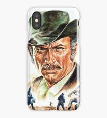 Lee Van Cleef painting portrait iPhone Case/Skin
