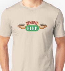 Friends - Central Perk White Outline Variant Unisex T-Shirt