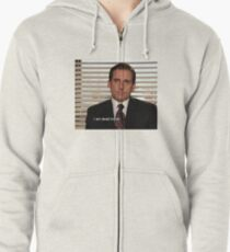 The Office Zipped Hoodie