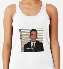 Camiseta con espalda nadadora La oficina