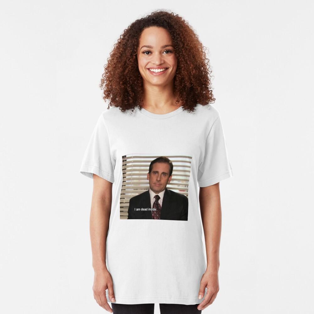 La oficina Camiseta ajustada