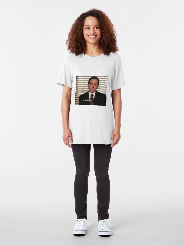Vista alternativa de Camiseta ajustada La oficina