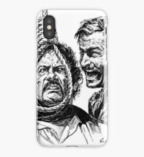 "Eli Wallach Franco Nero movie poster ""Long Live Your Death"" western iPhone Case"