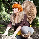 Squirrel Girl on a Branch by KAMIcomics