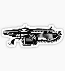 Gears Of War Lancer Print Sticker