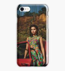 Selena Red Car Gomez Flowers iPhone Case/Skin