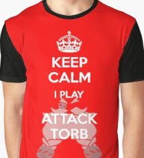 Keep Calm Attack Torb Graphic T-Shirt