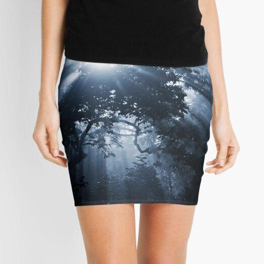 Rhapsody in Blue Mini Skirt