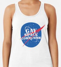 NASA Parody Gay Space Communism Women's Tank Top