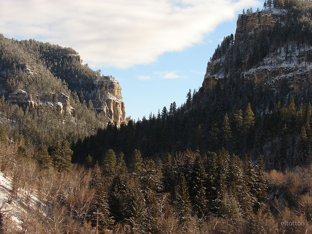 In the Canyon by eltotton