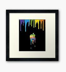 Apple, Colorful case/phone/skins Framed Print