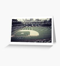 A day at the Baseball Field Greeting Card
