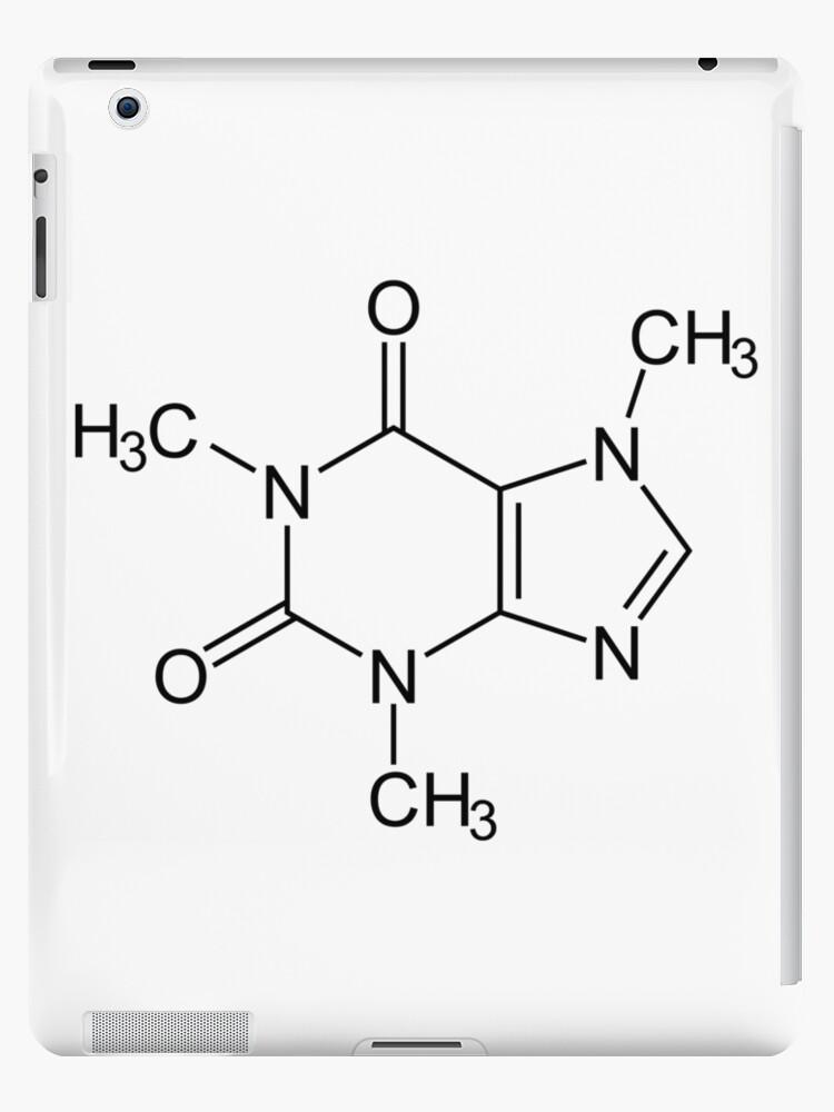 Kaffee Koffein Chemische Verbindung Ipad Hülle Klebefolie Von Atomicbiscuit 24