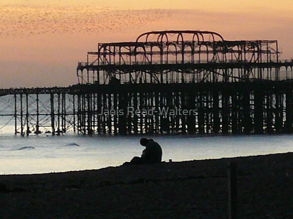 brighton pier by Janis Read-Walters