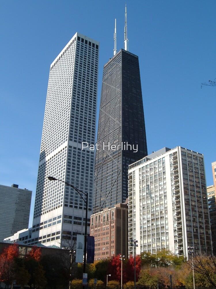 Big John - Chicago Hankock Building by Pat Herlihy