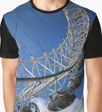 London Eye, England Graphic T-Shirt