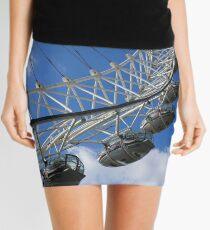 London Eye, England Mini Skirt
