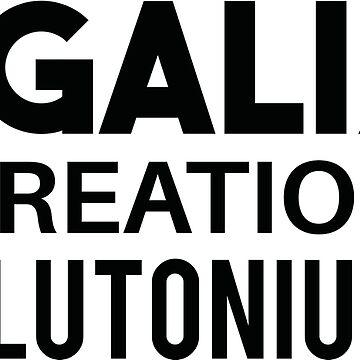 LEGALIZE RECREATIONAL PLUTONIUM BLACK  by patriotsapparel