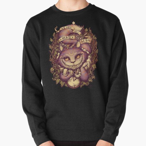 mettant en vedette Cheshire Cat Sweatshirt épais