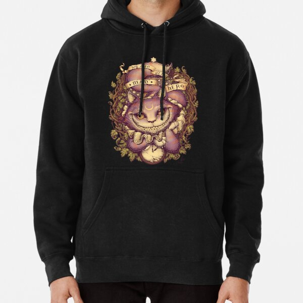 CHESHIRE CAT Pullover Hoodie