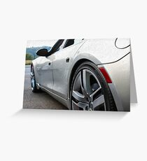 Sports Car Greeting Card