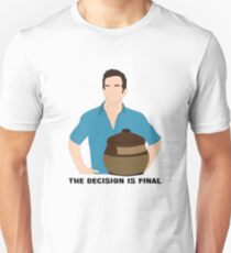 Jeff Probst The Decision is Final T-Shirt