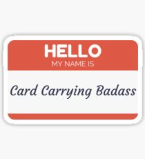 Hello My Name is Katie Couric  Sticker