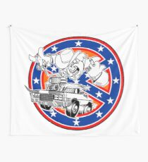 Ghostbusters of Hazzard - Franchise Logo Wall Tapestry