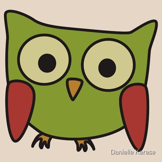TShirtGifter presents: Groovy Owl