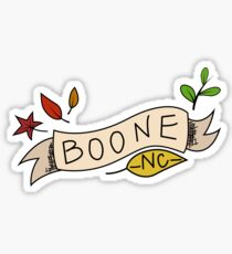 Boone, NC Sticker