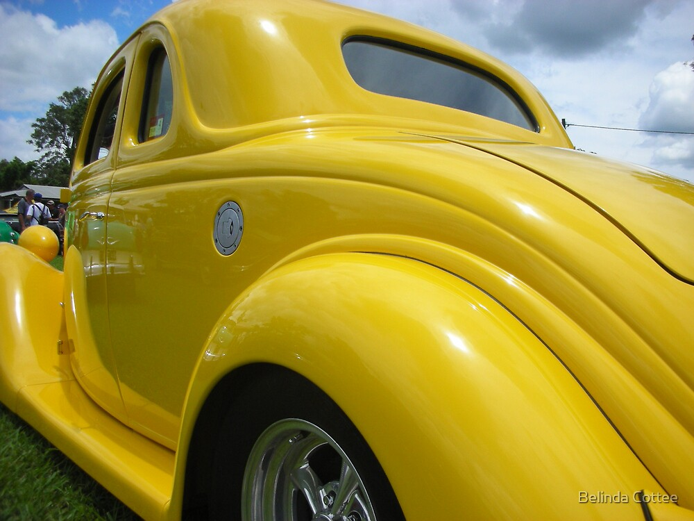 yellow ford by Belinda Cottee
