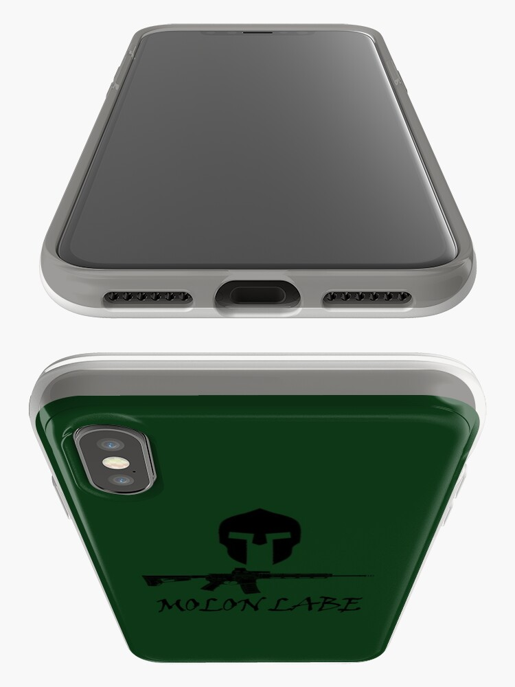 Alternate view of Molon Labe  iPhone Cases & Covers