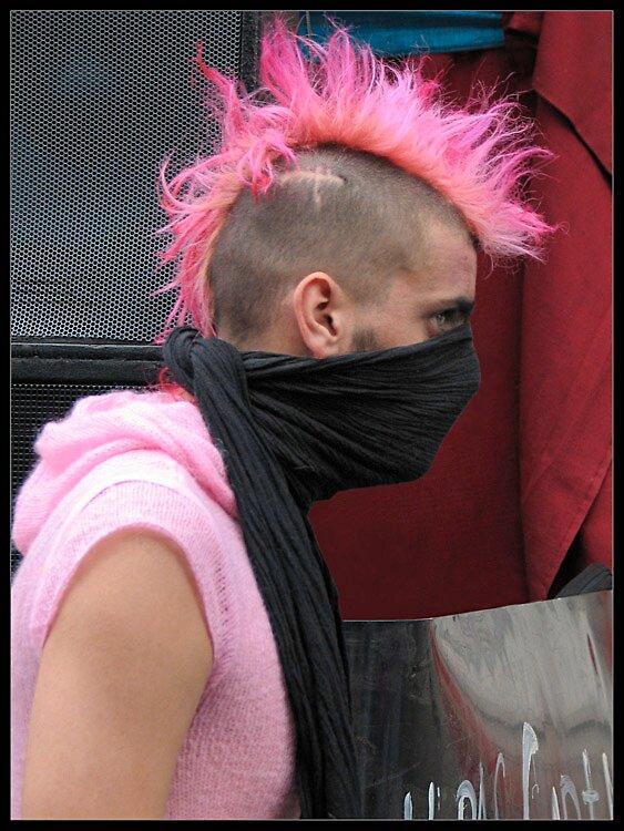 Pink Punk by Daaram