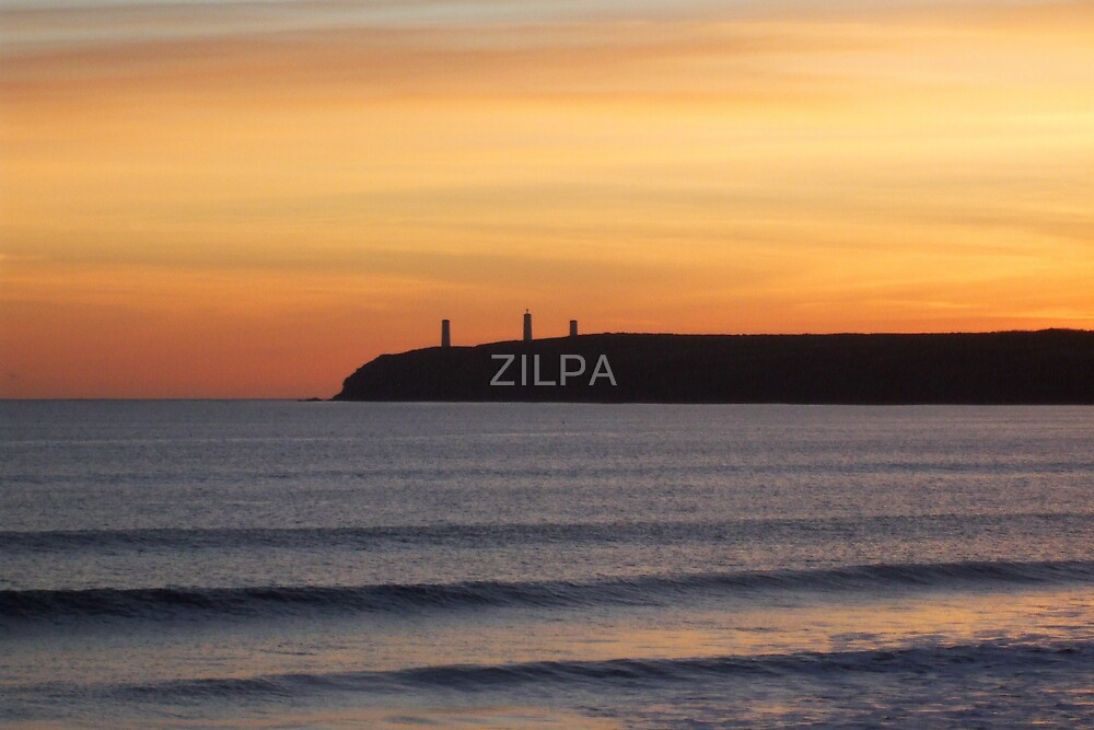 SUNSET AT LANDS END by ZILPA