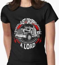 I Just Dropped A Load Women's Fitted T-Shirt