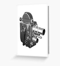 Camcorder, Retro, Video Kamera, Greeting Card