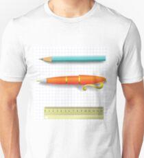 pen and pencil Unisex T-Shirt